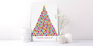 Christmas Tree Books by Christmas Wedding Guest Book Alternatives By Peachwik