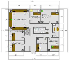 free business floor plan template