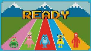 yo gabba gabba mini arcade games kids