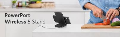 amazon com anker powerport wireless 5 stand wireless charger for