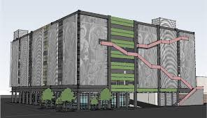 county taps joeris for construction of downtown parking garage this rendering of a new downtown parking garage was shown to the bexar county commissioners tuesday