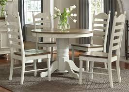 cream dining room chairs springfield honey and cream extendable pedestal dining room set