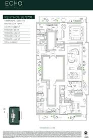 echo brickell floor plans echo brickell carlos ott penthouse floorplan 0 jpg 900 1334