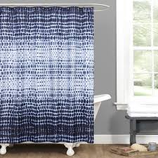 Lush Shower Curtains Lush Decor Arney Tie Dye Shower Curtain Free Shipping On Orders