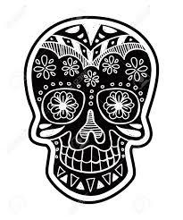 inverted sugar skull royalty free cliparts vectors and stock