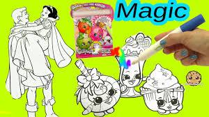 shopkins imagine ink rainbow color pen disney princess surprise