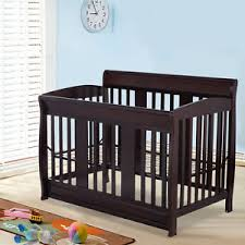 Crib Convertible Toddler Bed 4 In 1 Baby Crib Convertible Toddler Bed Daybed Size Bed