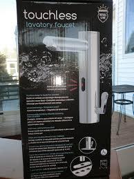 Motion Sensor Bathroom Faucet by Touchless Lavatory Faucet Bathroom Sink Faucets Amazon Com