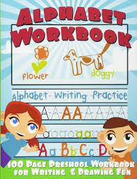 practice alphabet alphabet workbook alphabet writing practice preschool workbook