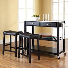 kitchen island set crosley kitchen island set with stainless steel top reviews