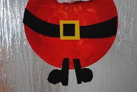 paper plate santa craft laura williams