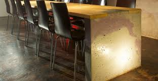 Wall Bar Table Commercial Concrete Project Gallery Cheng Concrete Exchange