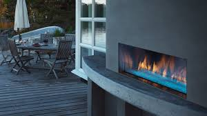 outdoor lifestyles palazzo gas fireplace majestic products