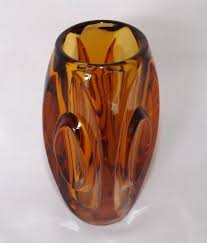 Vintage Orange Glass Vase 122 Best Vintage Vases Images On Pinterest Vintage Vases Glass