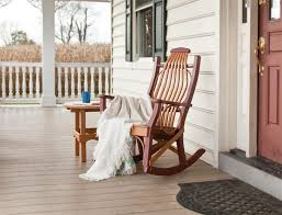 amazing wooden rocking chairs for front porch