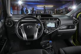 toyota limo interior toyota gives 2015 prius c hybrid hatch a light makeover