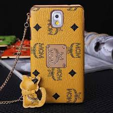 mcm designer mcm galaxy note 3 designer phone hülle protective cover braun ou