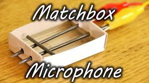 how to make a matchbox microphone youtube