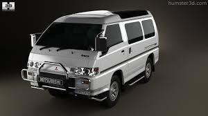 mitsubishi delica 2016 360 view of mitsubishi delica star wagon 4wd 1986 3d model hum3d