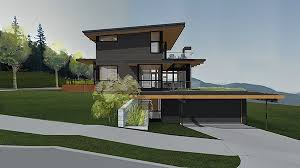 steep slope house plans modern house on steep slope