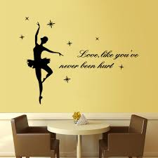 aliexpress com buy free shipping diy vinyl letters wall stick to aliexpress com buy free shipping diy vinyl letters wall stick to love like you have no harm the family decorates a wall stickers from reliable wall