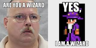 Are You A Wizard Meme - yes i am a wizard terraria by legion0625 on deviantart