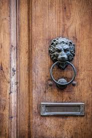 decorative door knockers decorative door knocker stock photo image of hole brass 39781582