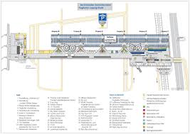 Frankfurt Airport Map Leipzig Halle Airport Map