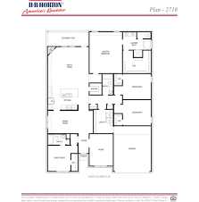Dr Horton Floor Plans by Plan 2716 Fosters Ridge Conroe Texas D R Horton