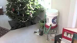 auto christmas tree watering mov youtube