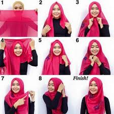 tutorial hijab simple tapi menarik 9 tutorial hijab segi empat simple tanpa ciput hijabyuk com