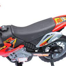 electric motocross bike uk aosom aosom 6v kids ride on electric motocross dirt bike red