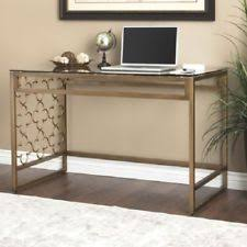 Quatrefoil Table L Gold Desks And Home Office Furniture Ebay