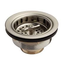 Kitchen Sink Strainer Assembly by Strainer Basket With Wing Nut Stopper 3 1 2