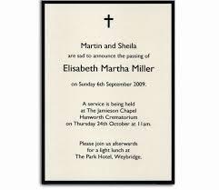 funeral service invitation memorial service invitation letter tutnam org