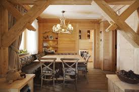 rustic alpine apartment with natural wood elements idesignarch