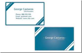 free templates for business cards create and print free business