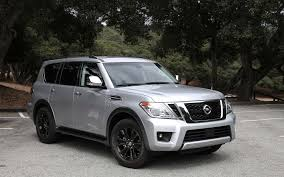 nissan armada 2017 vs patrol 2017 nissan armada an almost modern suv review