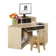 Floating Corner Desk by Corner Computer Desk With Printer Shelf Decorative Desk Decoration