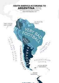 A Map Of South America by Atlas Of Prejudice