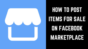 how to post items for sale in marketplace