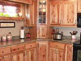 Hickory Kitchen Cabinet Hickory Kitchen Cabinets Furniture Large Hickory Kitchen With U
