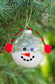 How To Make Decorative Balls 30 Diy Christmas Tree Ornament Tutorials Glue Dots Sharpies And