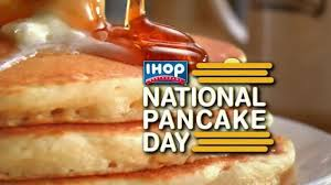 Get Free Pancakes At Participating Ihop National Pancake Day Free Stack Of Pancakes On March 8th