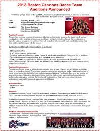 Sample Dance Resume For Audition Professional Dance Team Resume Virtren Com