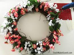 diy spring wreath find it make it love it