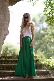 Long Flowy Maxi Skirt Best 25 Green Maxi Skirts Ideas On Pinterest Olive Maxi Skirts