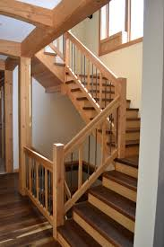 Home Interior Stairs Design Stair Choosing Pine For Stair Treads Of Pine Flooring