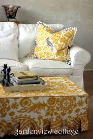 best 25 ottoman slipcover ideas on pinterest ottoman cover rag