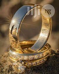 Italian Wedding Rings by 18karat Italian Gold Wedding Ring Set For Sale In Surulere Buy